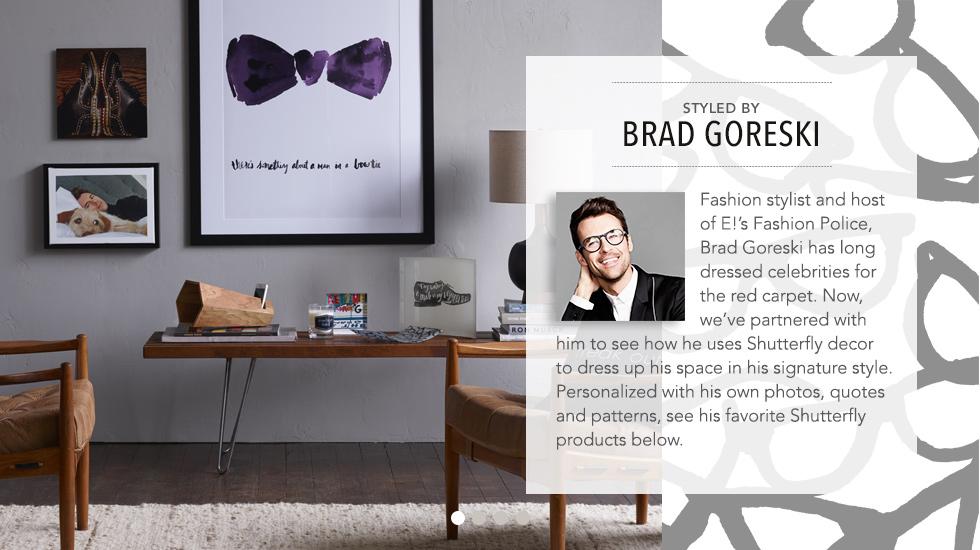 Styled by Brad Goreski