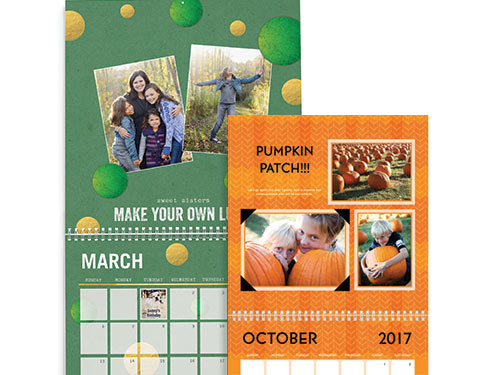 photo calenders - Template