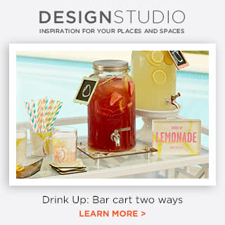 Bar Cart Two Ways