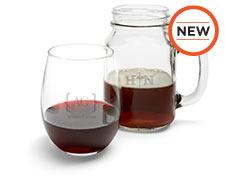 Wine Glasses & Mason Jars