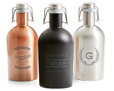 The Perfect Gift For Beer Lover In Your Life A Personalized Stainless Steel Growler As Unique They Are From 44 99 22 50 Save