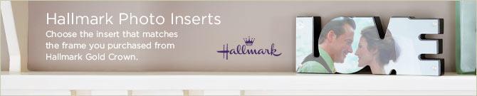 Hallmark Photo Inserts
