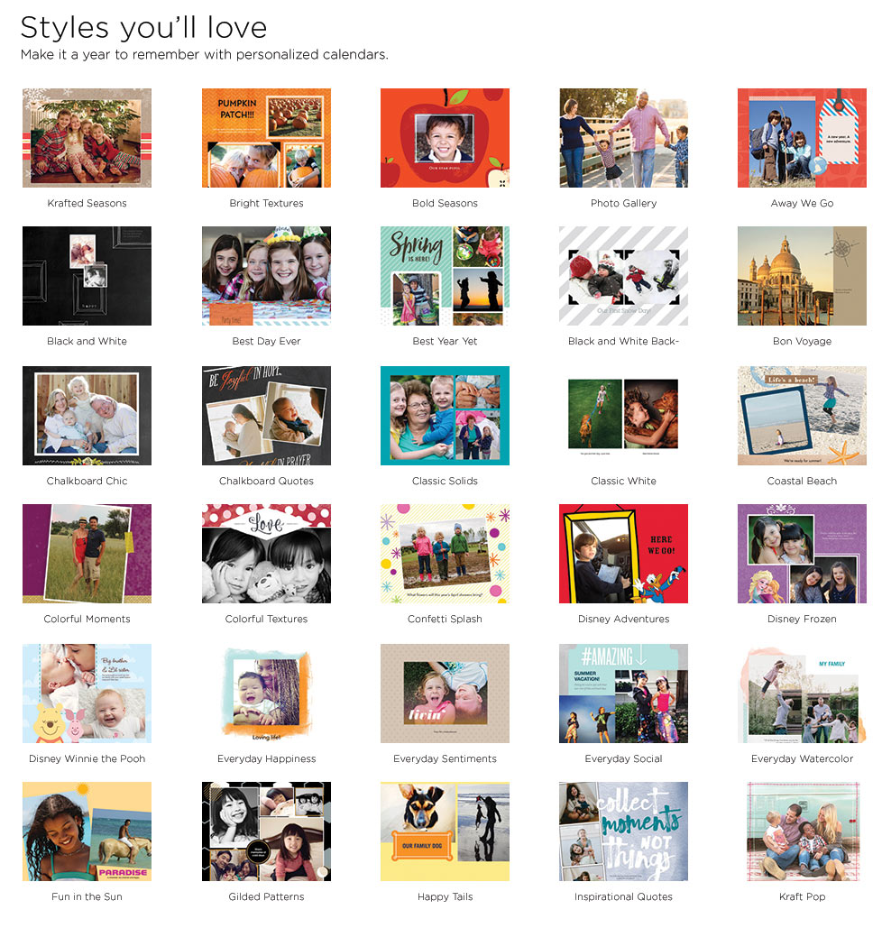Art Handler Calendar : Wall calendars personalized photo