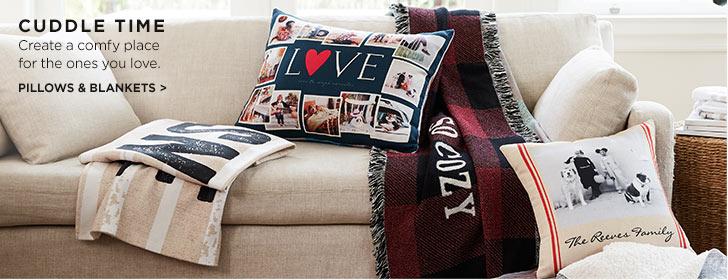 Pillows & Blankets