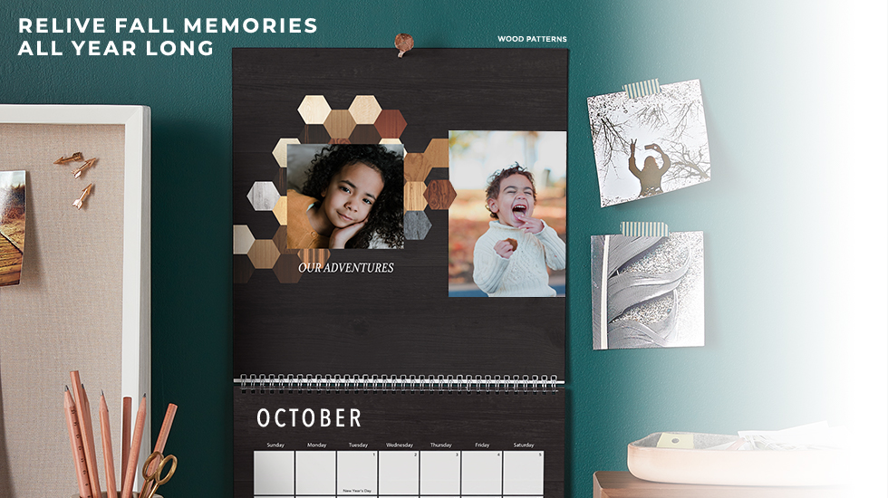 8x11 Personalized Photo Calendar for Free