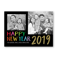 new years new years cards