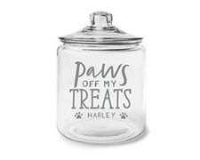 Glass Treat Jars