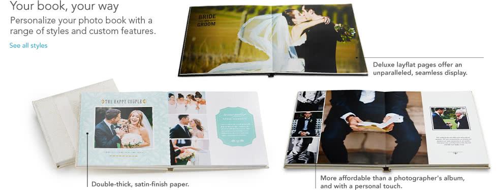 design album wedding book