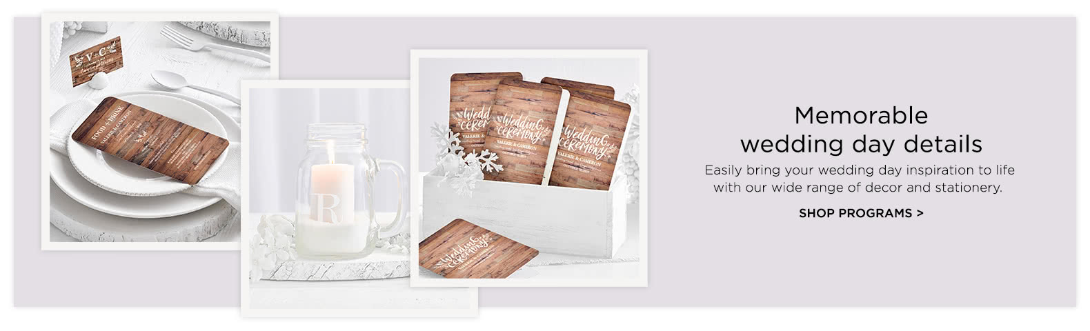 Wedding day wedding reception and ceremony cards shutterfly wedding day stationery junglespirit Image collections