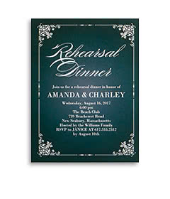 Wedding party invitations wedding celebration invitations shutterfly rehearsal dinner invitations stopboris Gallery