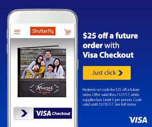 Get a free book when you pay with Visa Checkout