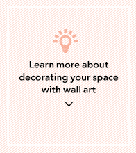 Learn more about decorating your space with wall art