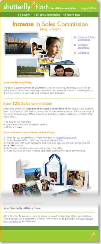 Flash Newsletter Sample
