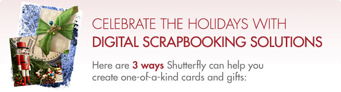 Celebrate The Holidays With Digital Scrapbooking Solutions