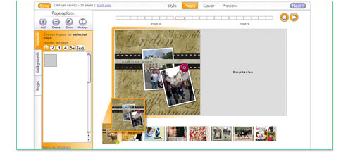 Drag and Drop Images into Pages
