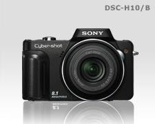 Cyber-shot Camera DSC-H10/B