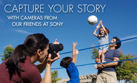 Capture Your Story With Cameras From Our Friends At Sony