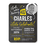 Birthday invitations birthday party invites shutterfly adult birthday invitations stopboris