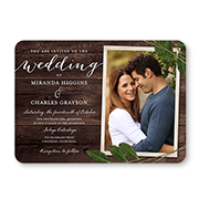 wedding invitations - Picture Wedding Invitations