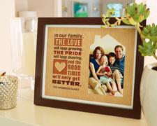 8x10 Family Frame