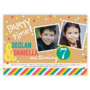 kids birthday invitations kids birthday party invites shutterfly