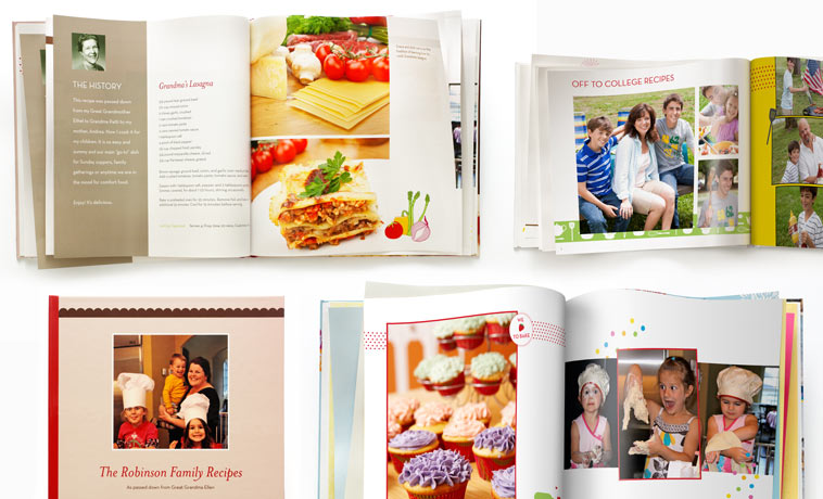 recipe photo books make a recipe book online shutterfly