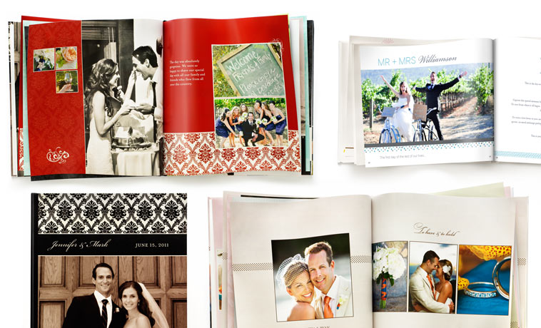 Wedding albums wedding photo books shutterfly - Customiser album photo ...